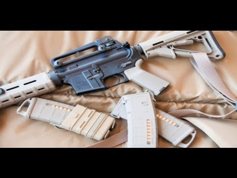 AR-15 Maintenance: Field-strip, Clean and Lubricate an AR-15 - Gunsite Academy Firearms Training