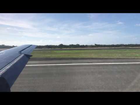 Landing at Charlotte Amalie, Saint Thomas, USVI