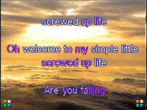 Simple Little Screwed Up Life Karaoke