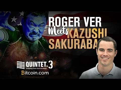Roger Ver Meets Kazushi Sakuraba | Bitcoin.com Sponsors Quintet 3