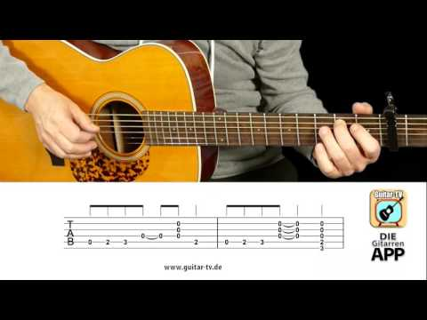 Far Far Away - Slade Cover • Chords & Lyrics, Tutorial Gitarre Lesson