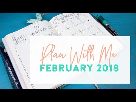 Plan With Me #26: February, 2018