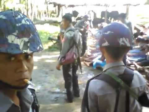 The video showing torturing of Rohingyas by Myanmar police force