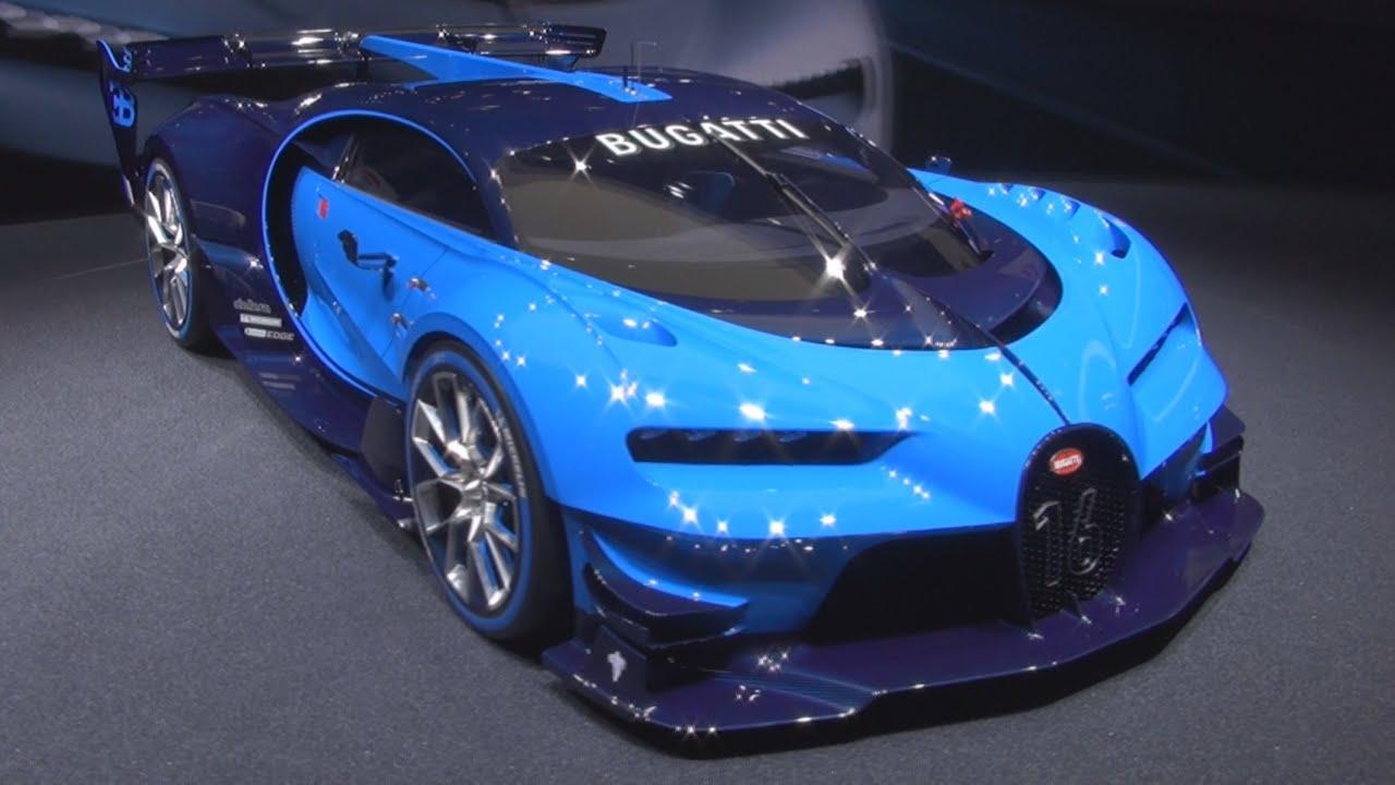 Bugatti vision gran turismo exterior and interior in 3d youtube - Turismo interior ...