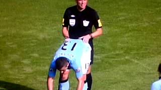 Ref shows bias to Man City