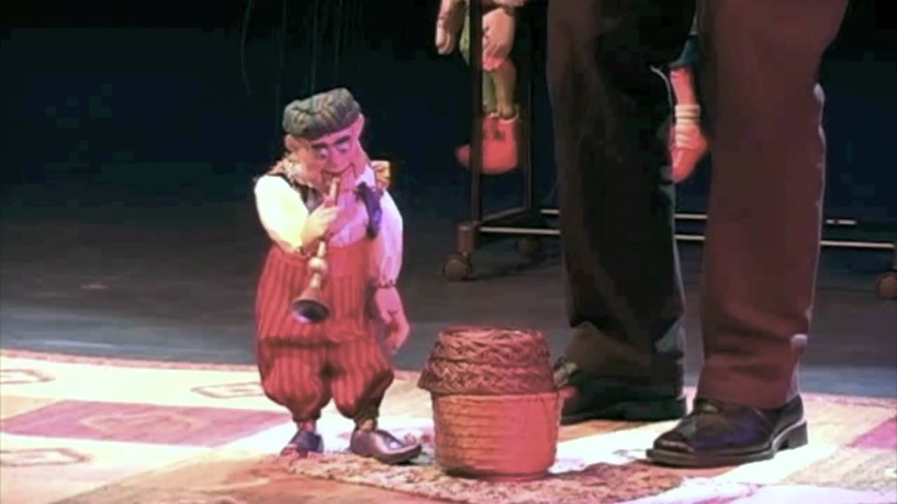 The Snake Charmer by Frisch Marionettes
