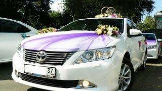 Свадебный кортеж Toyota Camry в Иваново.