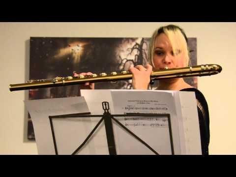 Katia Tiutiunnik - Una Notte Sacra for bass flute solo (2006/2015)