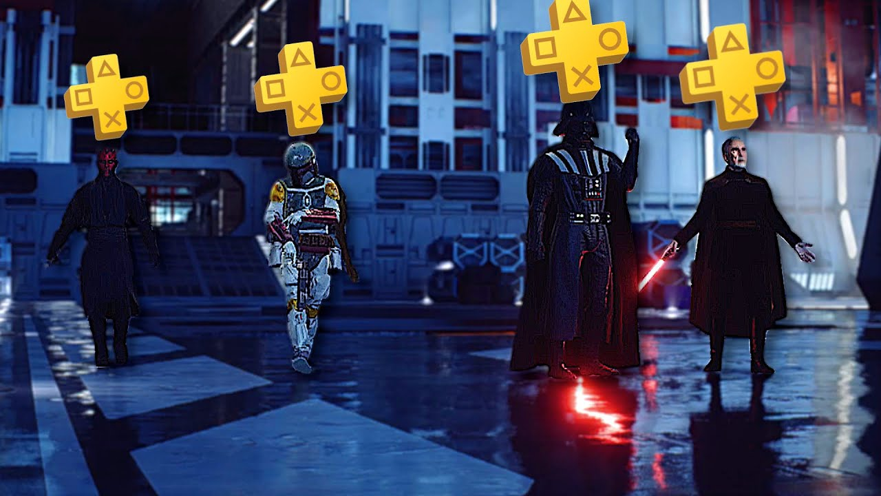 Star Wars Battlefront 2 but it is filled with PS Plus Players...