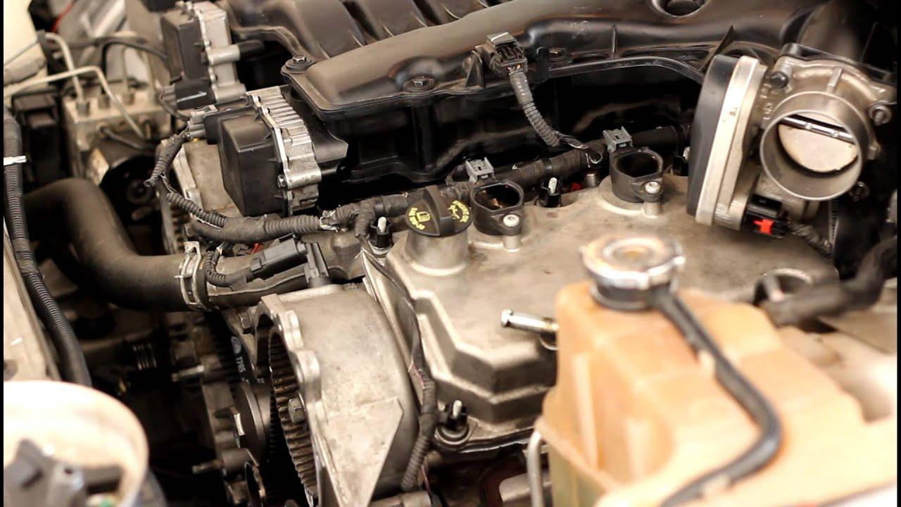 2006 Dodge Charger 35L  3 spun rod bearings sound  YouTube