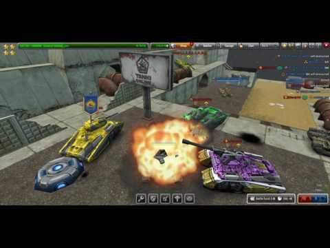 Tanki Online Gameplay #2 - Twins M4( Full Micro) & Titan M3 -parkour -space Mood-! With Swaiezy_pro