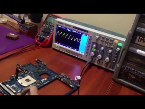 Обзор осциллографа HANTEK DSO5102p. Хороший осциллограф для ремонта ноутбуков. Подарок на новый год!