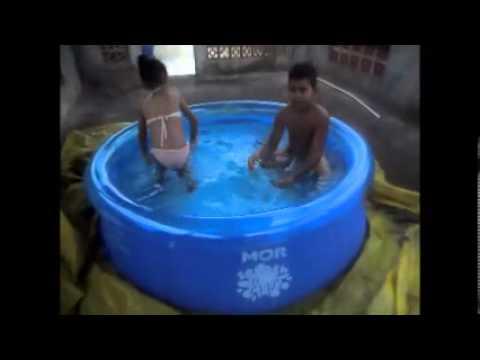 A piscina mor splash fun youtube for Piscina 6500 litros