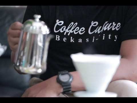 Brewing Panama Gesha - Morgan Estate (Coffee Culture Bekasi City)