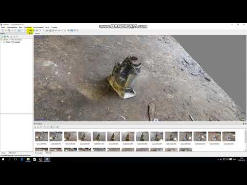 Как создать 3D модель из фотографий Agisoft Photoscan