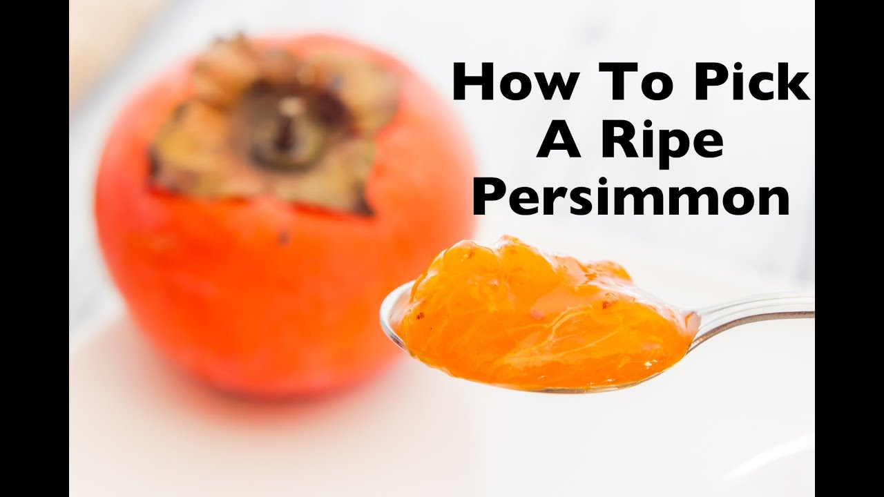 How To Pick A Ripe Persimmon How To Eat Persimmons (fuyu, Hachiya, &