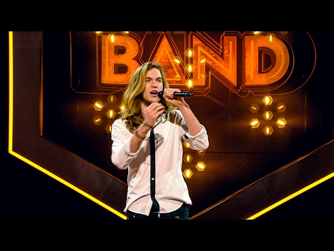 Thomas zingt 'Parijs' | The Band 2017 | VTM