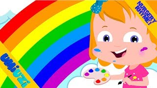 Rainbow Colors Song Video For Kids | Educational video for kids