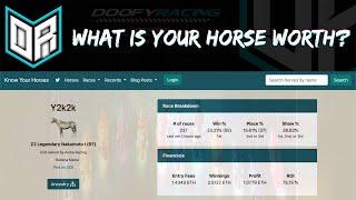 Zed Run Horse Valuations