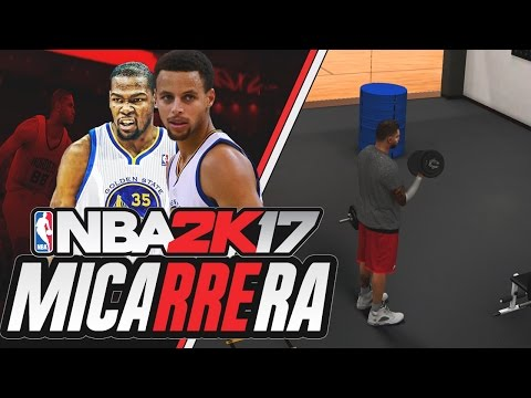 NBA 2K17 Mi Carrera- KEVIN DURANT Y GSW #7