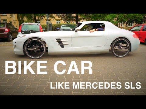 AMAZING BIKE CAR FROM POLAND - PRANK