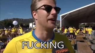 Emotional swede expresses what we all wanted to express after the game against Italy