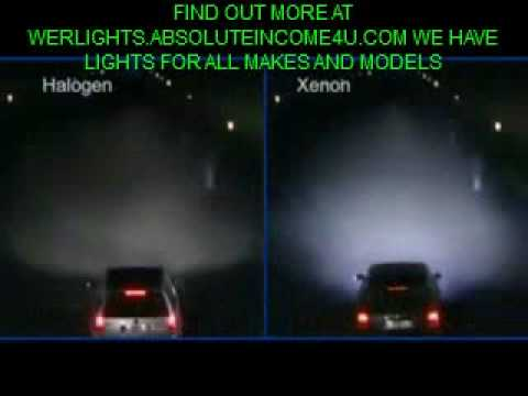 Car Display Wallpaper Vw Xenon Halogen Headlights Blue Demonstration Youtube