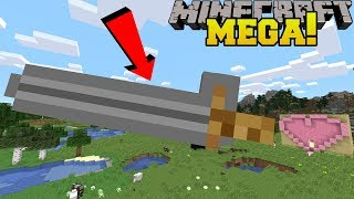 Minecraft: MEGA WEAPONS!!! (LARGEST SWORD IN MINECRAFT!) thumbnail