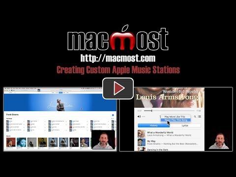 Creating Custom Apple Music Stations (#1534)