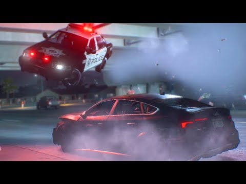 Need For Speed Payback Ep11 Cop Went OVER ME!! First BIG Chase!