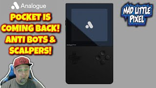 Analogue Pocket Is Coming Back In Stock! Anti Bots & Scalper A Priority! Super NT Mega SG RESTOCK!