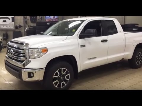 2017 toyota tundra double cab trd off-road review - youtube