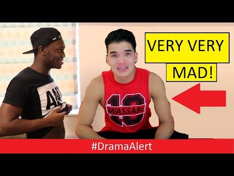 Deji makes Alex Wasabi & LaurDIY very MAD! #DramaAlert Rapper tries to Steal Adam22 Cat!