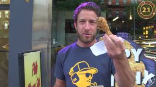 Barstool Pizza Review - iPizza NY (Bonus Krispy Krunchy Chicken Review)