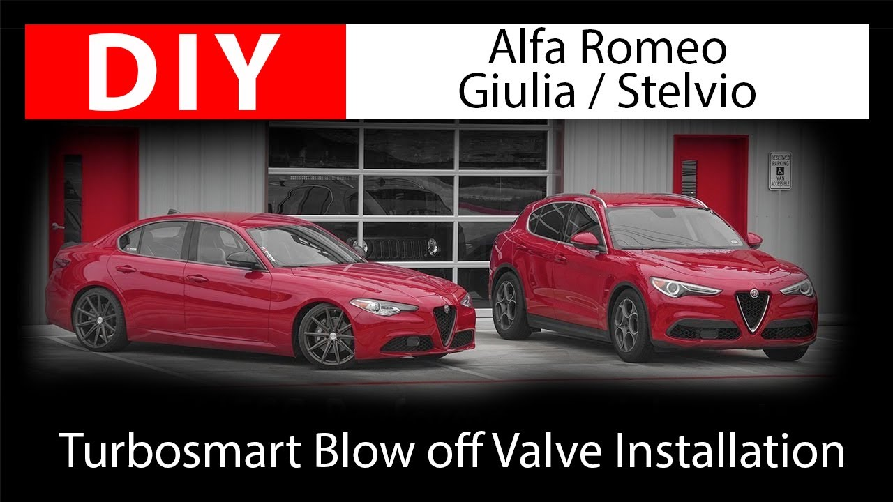 DIY: Installing Alfa Romeo Giulia / Stelvio Blow off Valve by Turbosmart