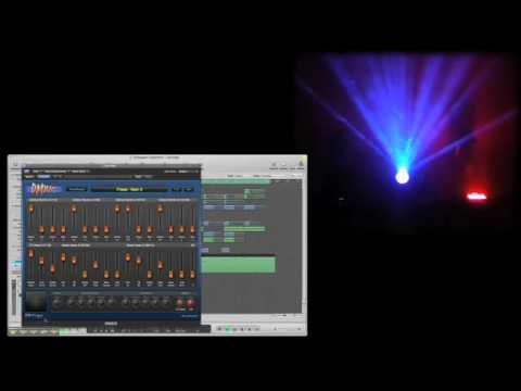 Using DMXIS as Plugin with Logic on MAC OS to control lights