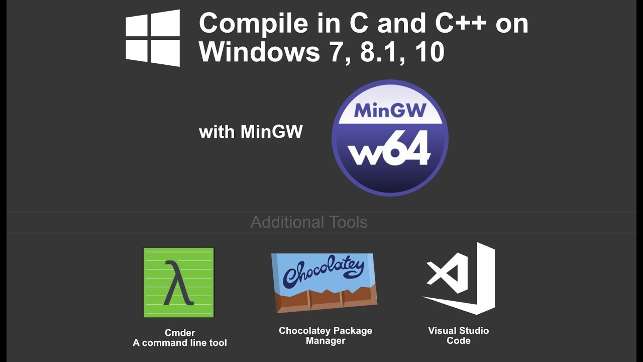 Installing C and C++ Compiler for Windows 7, 8 1, and 10 (MinGW) 2018