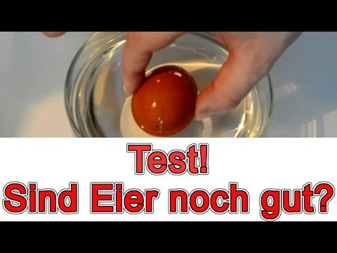 woran erkennt man ob eier noch gut sind