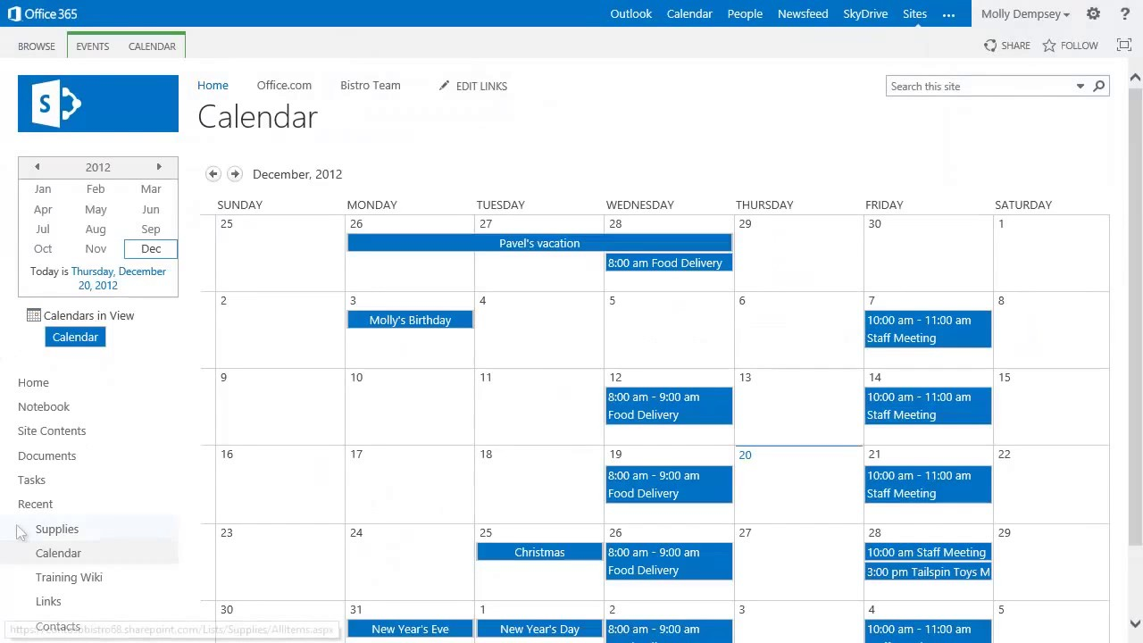 Introduction to Lists in SharePoint Online