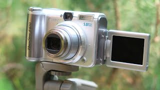 Canon Powershot A610: Test Footage and Pictures
