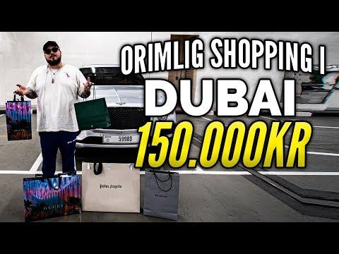 SHOPPAR FR 150.000KR I DUBAI *PALM ANGELS, GUCCI & BALENCIAGA*