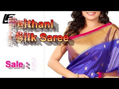 Paithani saree makeup, Paithani saree, Latest Fashion