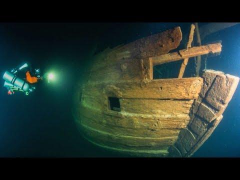 На дне моря найден 400-летний ГОЛЛАНДСКИЙ ФЛЕЙТ