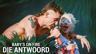 DIE ANTWOORD - Baby's On Fire (Live At Hurricane Festival 2015)