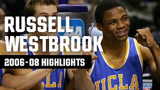 Before russell westbrook landed a career in the nba, he spent two years at ucla from 2006-08. watch all of his best plays for ncaa tournament...