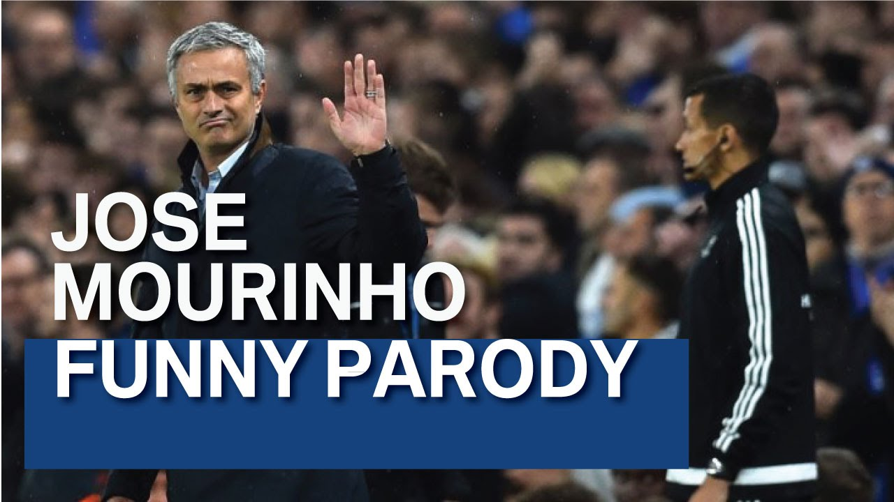 Jose Mourinho Funny Parody (best song ever) - YouTube