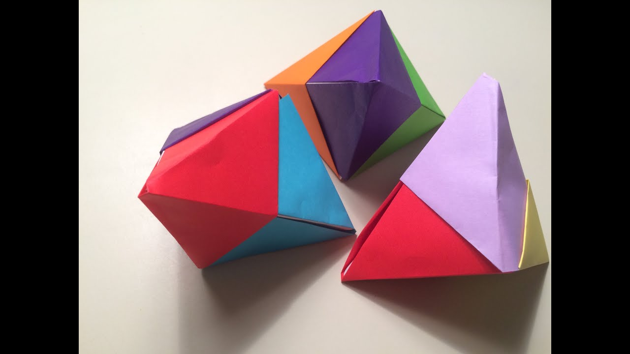 Origami Fortune Cookie 3d Youtube