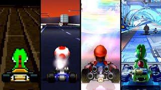Evolution of Hardest Courses in Mario Kart Games (1992-2019)