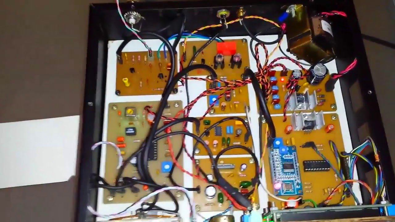 27MHz CB BAND - DDS Radio Receiver (Homebrew) - What's inside - Part 2