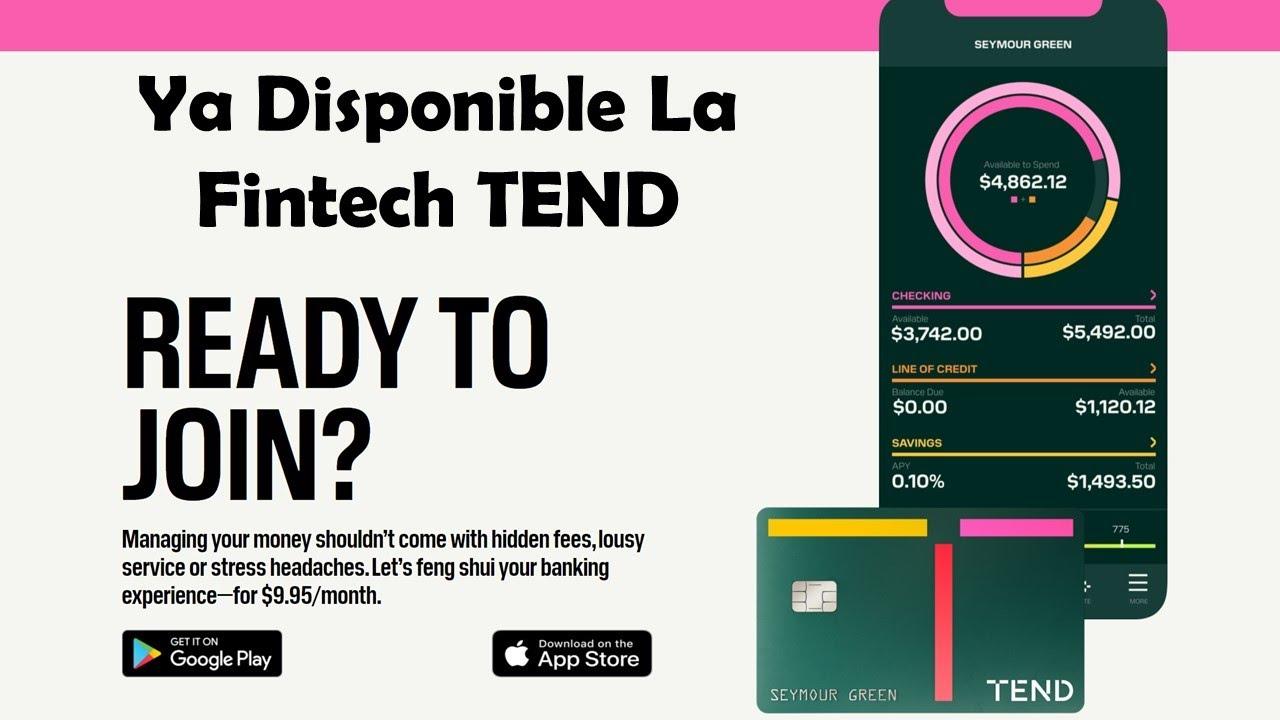 Ya Puedes Pedir Tu Tarjeta TEND   La Fintech Que Permite Transferencias Entre USA y México   #FAIL